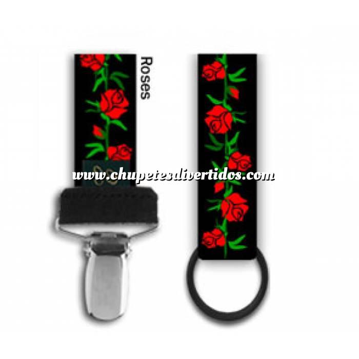Imagen Complementos Cordón chupete Rosas (Últimas Unidades)
