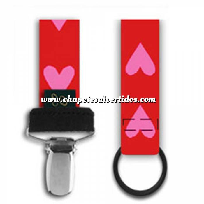 Imagen Complementos Cordón chupete corazones (Últimas Unidades)